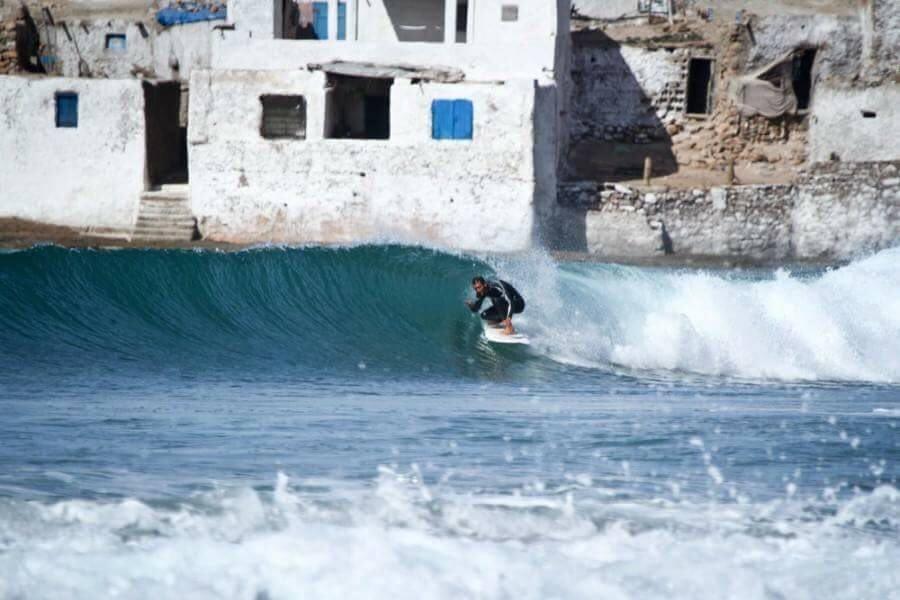 серфинг Марокко